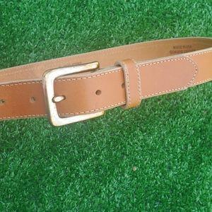 J-Crew women's genuine leather belt size 32